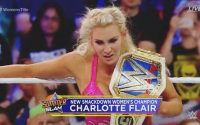 SummerSlam 2018 : Charlotte Flair def. Carmella and Becky Lynch Fight Video