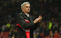 Jose Mourinho Applauds the Fans
