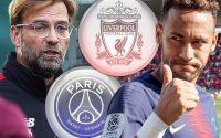 Jurgen Klopp Plans Neymar Jr Champions League Football package