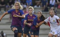 Kazygurt Vs FC Barcelona women UEFA women Champions League
