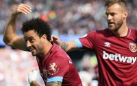 Felipe Anderson Downs Manchester United