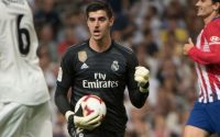 Thibuat Courtois Keeps Goal For real Madrid