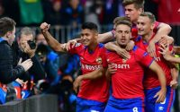 Nikola Vlasic Celebrates against Real Madrid