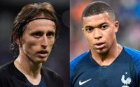 Luka Modric And Kylian Mbappe Ballon D
