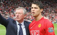 Sir Alex Ferguson and Cristiano Ronaldo Manchester United
