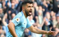 Sergio Aguero Manchester City Vs Burnley