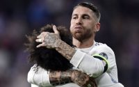 Sergio Ramos and Marcelo Real Madrid 2 - 1 Viktoria Plzen