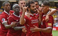 Firmino, Sadio Mane And Mohamed Salah