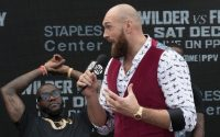 Tyson Fury and Relaxed Deontay Wilder
