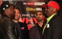 Dillian Whyte Vs Dereck Chisora : Finalized For December 22 At O2