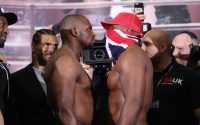 Dillian Whyte Vs Dereck Chisora 2 (Rematch) Weigh in results