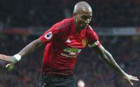 Ashley Young Manchester United Scores against Fulham