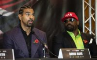 David Haye and Dereck Chisora Ahead of Dillian Whyte