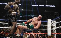 Deontay Wilder - Tyson Fury 12th round Knockdown
