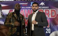 Terence Crawford and Amir Khan