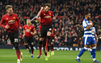 Juan Mata Puts Manchester United Ahead against Reading