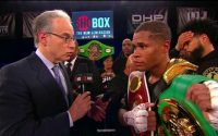 Devin Haney Defeats Xolisani Ndongeni in Shobox headliner