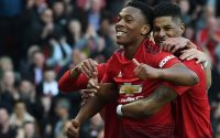 Marcus Rashford and Anthony Martial Manchester United