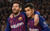 Lionel Messi And Philippe Coutinho FC Barcelona