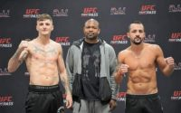 Connor Coyle Vs Robert Burwell Weigh-in Results