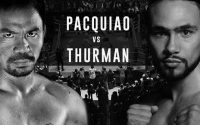 Manny Pacquiao Vs Keith Thurman Poster