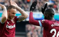 Marko Arnautovic Celebrates