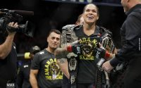 Amanda Nunez UFC Featherweight And Bantamweight Champion