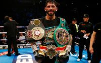 Jorge Linares With Belts