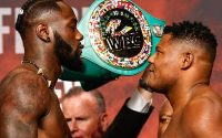 Deontay Wilder Vs Luis Ortiz rematch faceoff