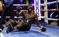 Dropped Deontay Wilder