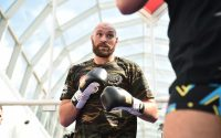 Tyson Fury Trains