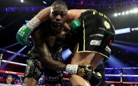 Deontay Wilder Wrestles With Tyson Fury In Rematch