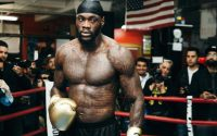 Deontay Wilder Work Out