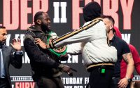 Tyson Fury Pushes Deontay Wilder