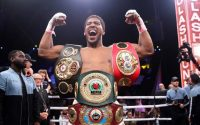 Anthony Joshua unified four belts