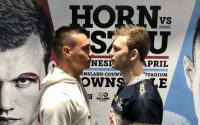 Tim Tszyu Jeff Horn Faceoff Media day