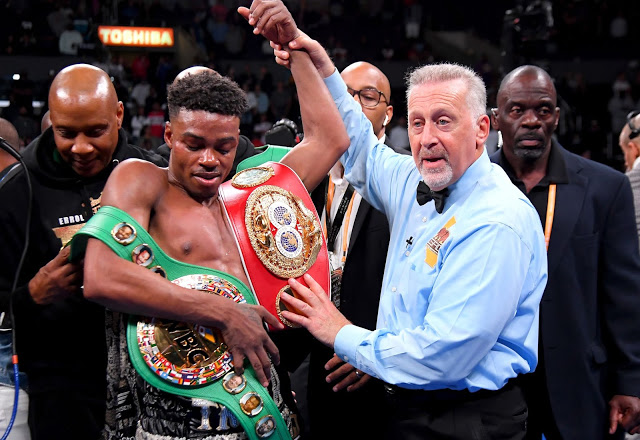 Errol Spence Unifies IBF And WBC Welterweight titles