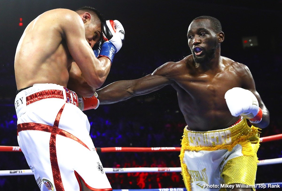 Terence Crawford Blows Amir Khan