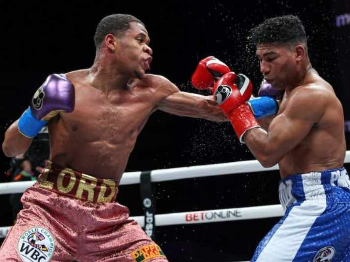 Devin Haney Decisions Yuriokis Gamboa In WBC Lightweight Battle