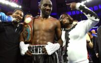 Terence Crawford With Family After Kell Brook Win