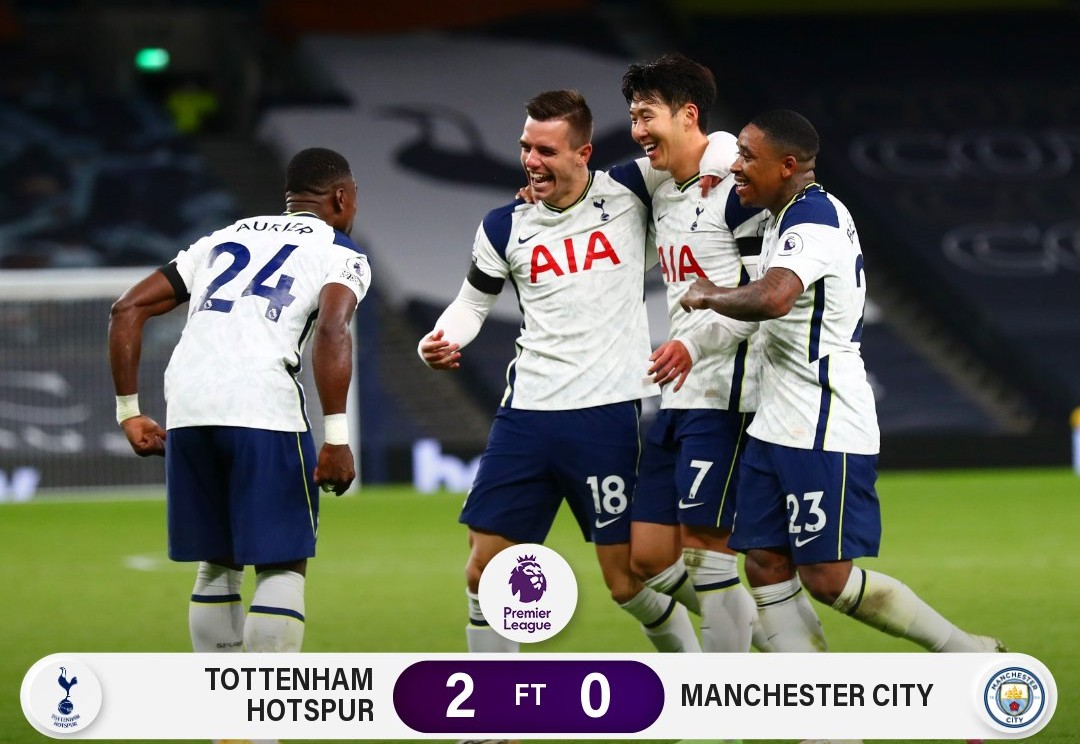 Tottenham Manchester City Highlights