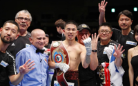 Kazuto Ioka Wins Belt In Four Divisions