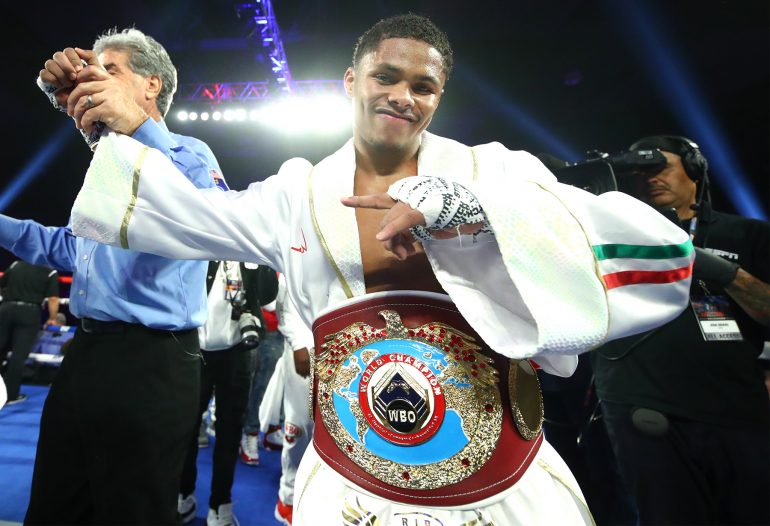 Shakur Stevenson Wins WBO World Title