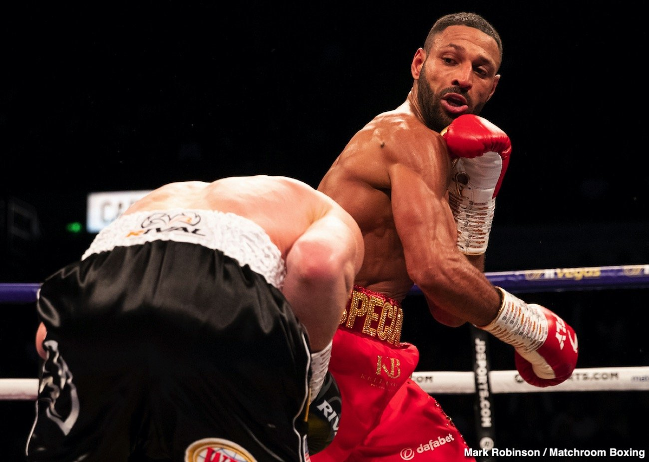 Kell Brook In Boxing Action