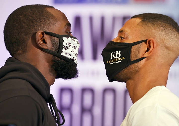Terence Crawford Kell Brook Faceoff
