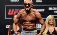 Deiveson Figueiredo During UFC Fight Night Weigh In