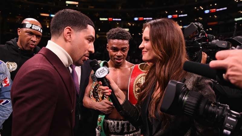 Errol Spence Danny Garcia In Ring Interview