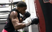 Errol Spence Virtual Media Day Workout