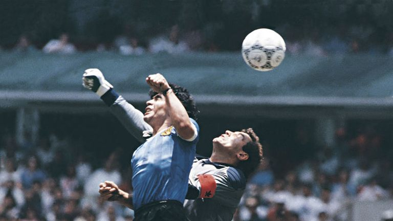 Diego Maradona, Hand Of God 1986 World Cup