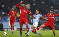 Gabriel Jesus Manchester City Vs Liverpool FC Defence